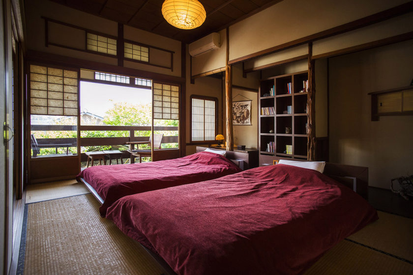 Bedroom with large beds