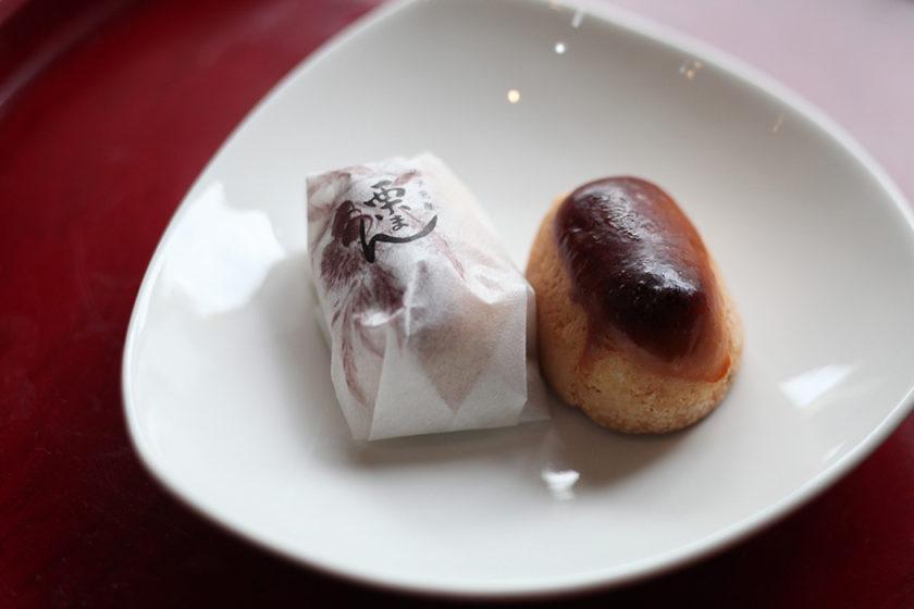One by one, we make delicious Kuri-manju