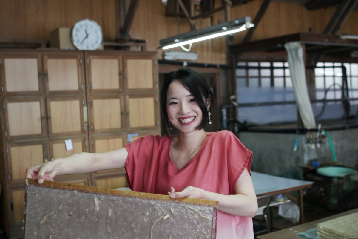 Paper-making workshop