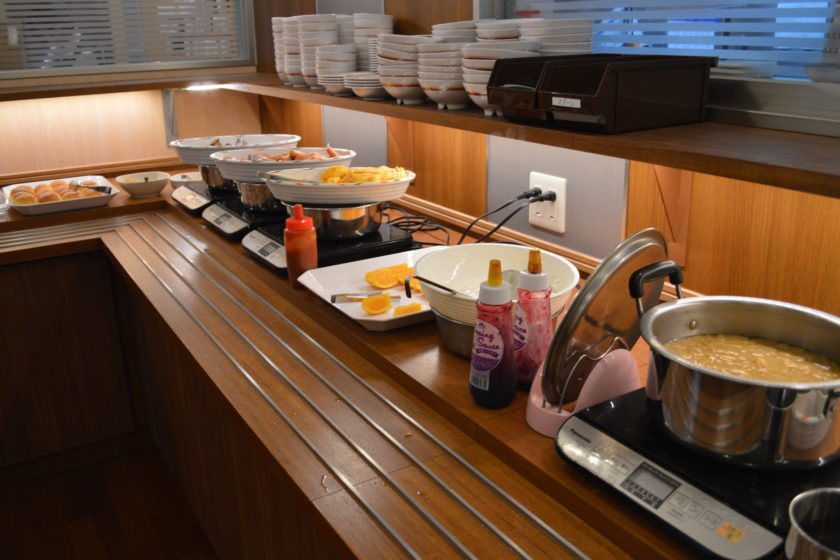 Breakfast Buffet is served from 7AM to 9:30AM