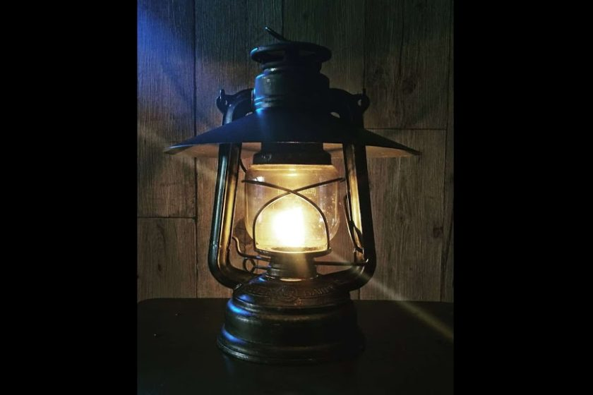 The original lamp shade