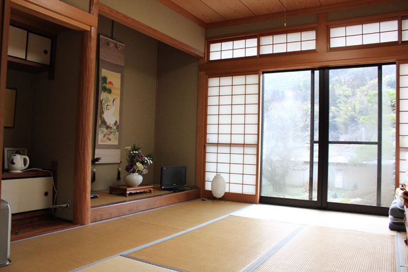 Spacious Japanese-style room