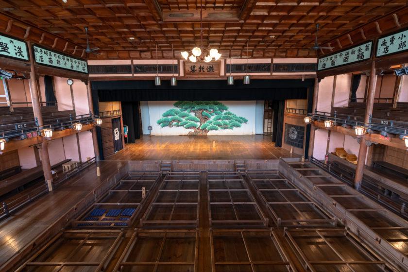 National Important Cultural Asset Uchiko-za Theatre