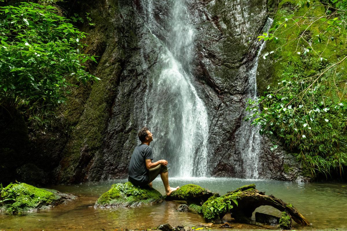 """""""Momiji Ga Taki"""" Waterfall"""