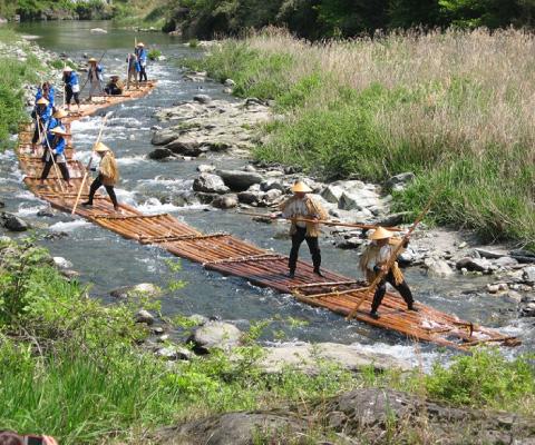 Kawanobori River Festival / Rafting
