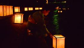 Oda Lantern Festival / Fire festival in Teramura