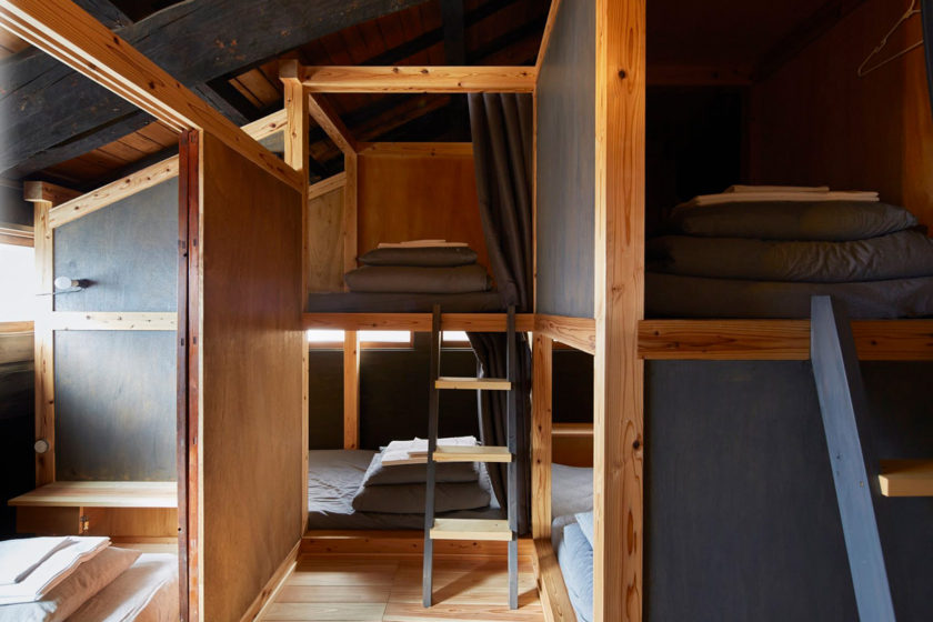 The beds in the dormitory are semi-private. You can relax in privacy and the calming surroundings.